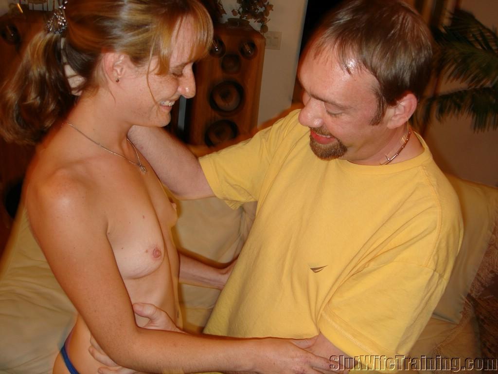 Wife sucks lots of cock